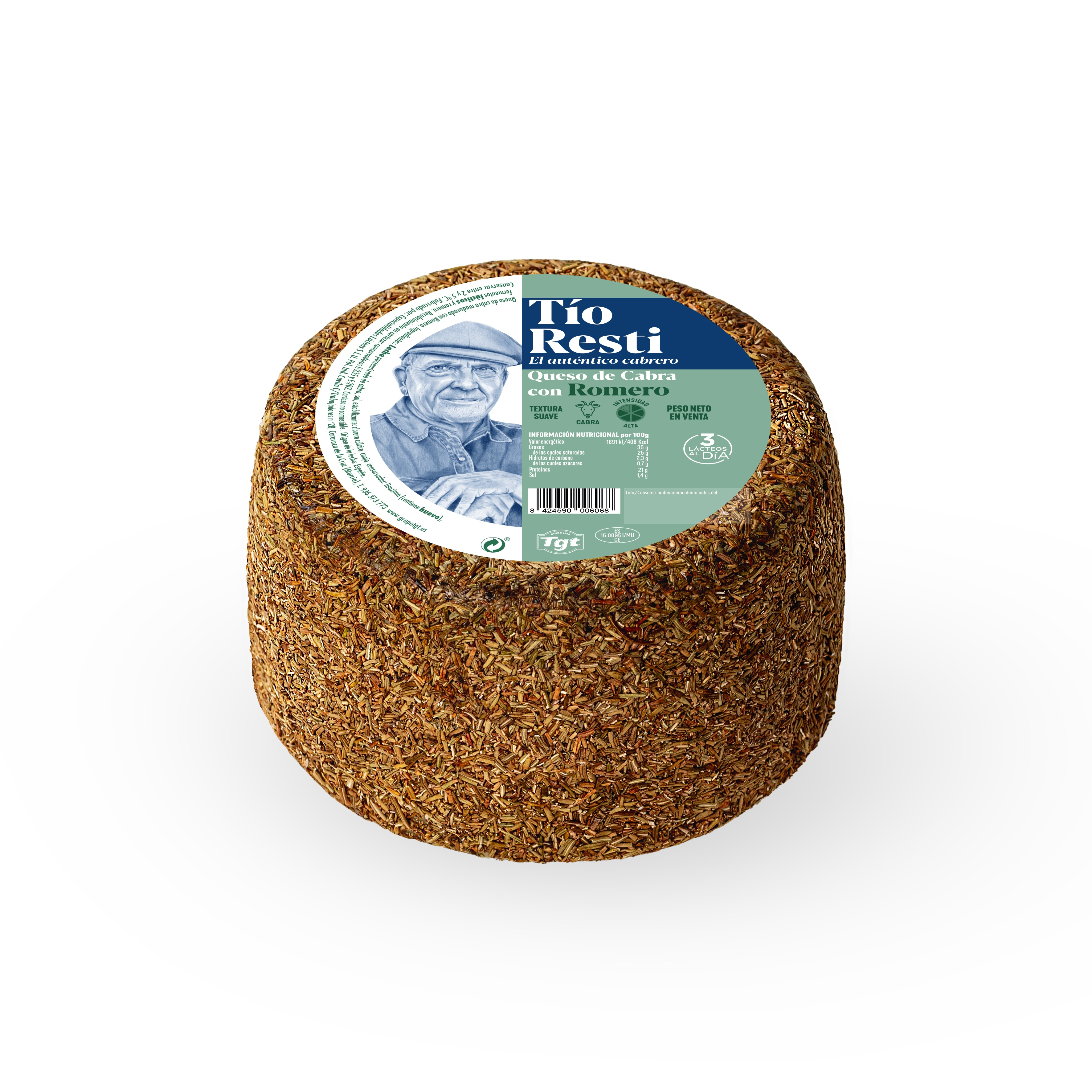 Rosemary - Covered Cheese